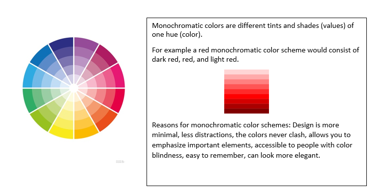 Define The Following Color Theories 1 Warm Colors